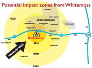 whitemoss pollution map